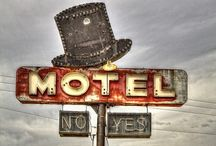motel & gas station