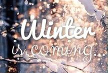 winter is coming...<3