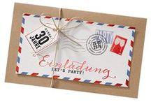 Einladungskarten / Mit viel Mühe und Liebe zum Detail präsentieren wir Ihnen hier eine Auswahl an Einladungskarten, die sich in verschiedene Kategorien aufteilen lässt. So finden Sie bei uns Einladungskarten zum 25. Jubiläum, Einladungskarten zum 40. Jubiläum, Einladungen zum 50. Jubiläum oder einfach moderne Einladungskarten, klassische Einladungskarten oder humorvolle Einladungskarten. Egal ob Silberhochzeit, Goldhochzeit, Geburtstag, Kommunion/Konfirmation, Einweihung oder Party..... bei uns sind Sie richtig!
