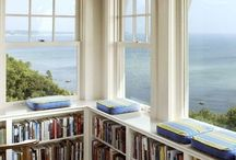 Reading spots & bookshelves