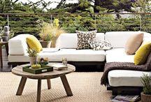 Terrazas, Exteriores / Terrazas y Exteriores. Decoración  y Diseño / by DecoraOnline.com