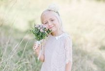 """Sina Fischer - Flowergirls and Boys """"Fingerhut"""" / Collection """"Fingerhut"""" for girls and boys by Sina Fischer  See how children are able to enrich a wedding ceremony"""