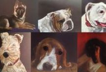 Retratos mascotas, haga su pedido / Pet portraits, place your order! lápiz color / color pencil