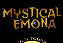 Mystical Emona-Soul's Journey / A grieving Boston artist moves to a secluded village by the Black Sea to start life over, only to discover a three-thousand-year-old Thracian legend—about a ring's curse and mystical nymphs—that he fears is about him and the mysterious woman he loves. On Amazon: http://www.amazon.com/Mystical-Emona-Souls-Journey-Volume/dp/1500616974