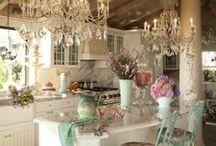 Lovely kitchens  / I love a cottage kitchen