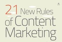 Content Marketing Infographics / Infographics about content marketing, blogging, and other related topics.