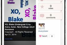 XO, Blake / New Adult Romance for boys who like boys  / by Avery Aster