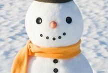 """Winter / When it's cold and snowy outside, we have lots of ideas for winter-appropriate crafts, activities, decor+ to have fun. Includes wintertime holidays, everything """"Frozen,"""" snow days, comfort foods and more."""