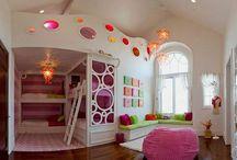 Habitaciones Niñas / Ideas para decorar la habitación de una niña