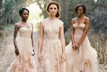 non-white wedding dresses / Who says that a wedding dress should be white? Check out these gorgeous alternative gowns!