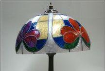 Lamparas / Lámparas de manualidades. www.manualidadespinacam.com