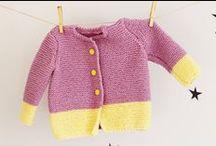 inspirace / pletení na děti