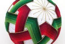 TEMARI - HILORAMA / Bolas e hilos. www.manualidadespinacam.com