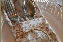 Napkin and Towel Folding
