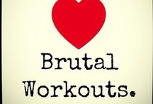 ❤️ Brutal Workouts / Cardio ~ Workout ~ Stretching ~