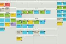 Interesting Scrum and Kanban Boards / A collection of interesting Scrum, Kanban, and task boards that teams use to manage their work.