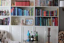 Bibliotecas en Casa / Ideas para bibliotecas en la casa