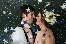star themed wedding / We're wishing on a star with these star themed wedding ideas.