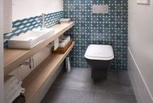 INTERIORS - BATHROOM // SALLE DE BAIN / Ideas to decorate, paint your bathroom - WC - salle de bain