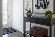 INTERIORS - HALLWAY // COULOIR / inspiration for your hallways - décoration pour votre couloir