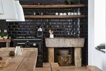 INTERIORS - KITCHEN // CUISINE / Kitchen inspiration - Décoration et aménagement cuisine