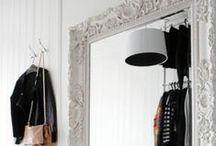 DETAILS - MIRORS // MIROIR / Mirer inspiration - idées de miroirs