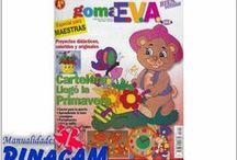 REVISTAS Y LIBROS DE MANUALIDADES / Tenemos toda la información necesaria para hacer manualidades. www.manualidadespinacam.com