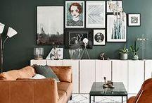 Sala de Estar/Jantar - Living/Dining Room / Social, descanso, Tv, jantar... Não importa qual o uso ou tamanho, é aqui que a turma se reune. Então, inspire-se!