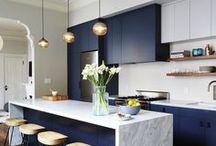 Cozinha - Kitchen / Para muitos o coração da casa!!! Inspire-se!