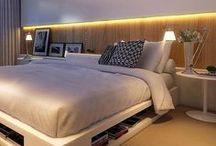 Quarto - Bedroom / É aqui que você passa a maior parte da sua vida, portanto é fundamental investir em conforto e porque não em design?!