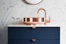 Banheiros - Bathroom / Lindos banheiros e lavabos para você se inspirar!