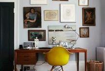Home Office / Inspirações para deixar seu escritório funcional e charmoso!