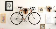 Ideias / Aqui você encontra ideias de como organizar livros, pendurar quadros, guardar a bicicleta... enfim, de tudo um pouquinho.