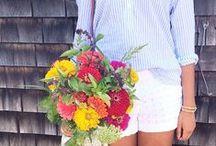 Fabulous Florals / Flower power. #allforcolor