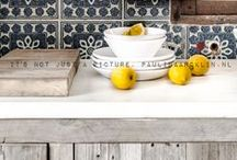 """Maison Belle  ❤ kitchen - keuken / Maison Belle means """"beautiful house"""". We provide interior design advice, ideas, mood, inspiration, tips and make interior designs for home and office. We'll help to create a home you ♡!"""