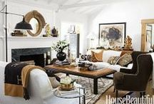 - Living Spaces - / by Fabrics & Furnishings