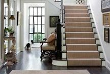 - Entryway | Stairs | Halls - / by Fabrics & Furnishings