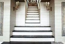 - Stairways, Landings, & Halls - / by Fabrics & Furnishings