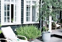 """Maison Belle  ❤ Garden - outside / Maison Belle means """"beautiful house"""". We provide interior design advice, ideas, mood, inspiration, tips and make interior designs for home and office. We'll help to create a home you ♡!"""