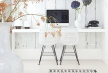 """Maison Belle ❤ work space/ office - werkplek / Maison Belle means """"beautiful house"""". We provide interior design advice, ideas, mood, inspiration, tips and make interior designs for home and office. We'll help to create a home you ♡!"""