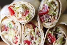 Füd: Wrap & Roll / I cannot be convinced wrapping food up doesn't make it taste better. Nope. Not at all.
