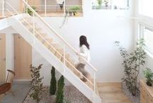 """Maison Belle ❤ stairs - trap / Maison Belle means """"beautiful house"""". We provide interior design advice, ideas, mood, inspiration, tips and make interior designs for home and office. We'll help to create a home you ♡!"""