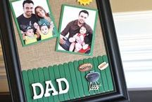 Just for Dad / Why not make a handmade gift for dad! You'll find fun and creative ways to surprise daddy.
