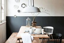 """Maison Belle ❤ black & white / Maison Belle means """"beautiful house"""". We provide interior design advice, ideas, mood, inspiration, tips and make interior designs for home and office. We'll help to create a home you ♡!"""