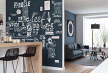 Maison Belle ❤ chalkboard
