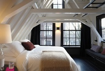 Maison Belle  ❤ attic floor - zolder / inspiration attic floor - zolder