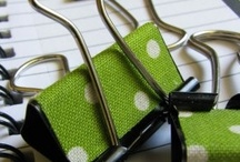 DIY: Get Crafty / Craft ideas for around the house or personal projects via repurposing or reusing old materials