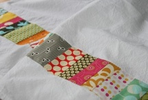 Sewing: Home Linens / Pretty fabric items we use in our every day to make living in our home that much nicer.