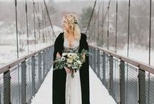 W I N T E R / W E D D I N G S / Winter & Holiday Wedding inspiration for brides, brides-to-be, and grooms.
