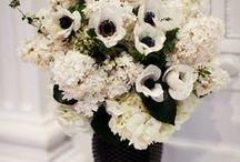 B & W / W E D D I N G S / Black & White Wedding Palette Inspiration for brides, brides-to-be, and grooms.